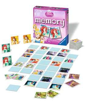 Disney Princess memory® Giochi;Giochi educativi - immagine 3 - Ravensburger
