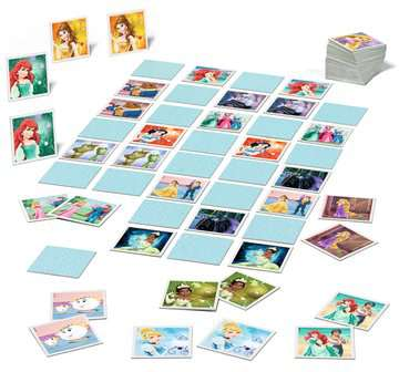 Disney Princess memory® Giochi;Giochi educativi - immagine 4 - Ravensburger