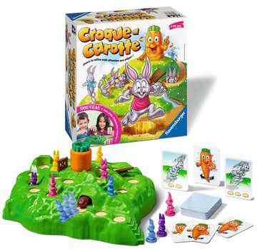 Croque Carotte Jeux de société;Jeux enfants - Image 3 - Ravensburger