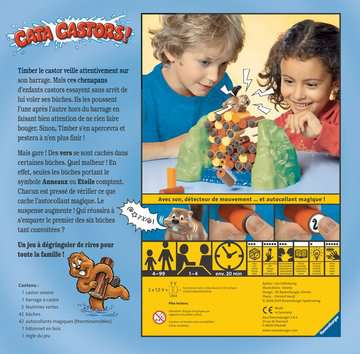 Cata castor ! Jeux;Jeux pour enfants - Image 2 - Ravensburger