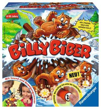 Billy Biber Spiele;Kinderspiele - Bild 1 - Ravensburger