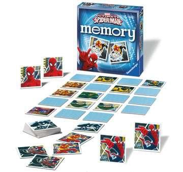 Ultimate Spider-Man memory® Giochi;Giochi educativi - immagine 3 - Ravensburger