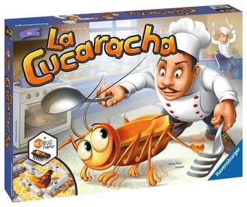 La Cucaracha Spill;Barnespill - bilde 1 - Ravensburger