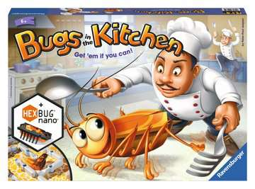 Bugs in the Kitchen Game Games;Children s Games - image 1 - Ravensburger