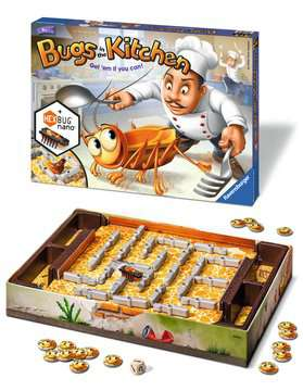 Bugs in the Kitchen Game Games;Children s Games - image 2 - Ravensburger