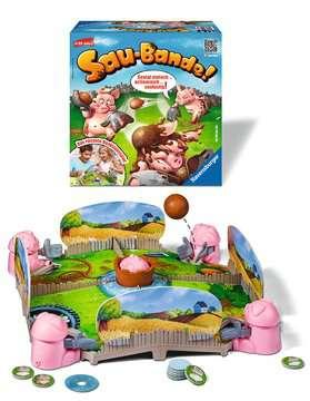 22267 Kinderspiele Sau-Bande! von Ravensburger 2