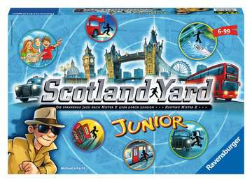 22289 Kinderspiele Scotland Yard Junior von Ravensburger 1