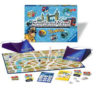 22289 Kinderspiele Scotland Yard Junior von Ravensburger 2