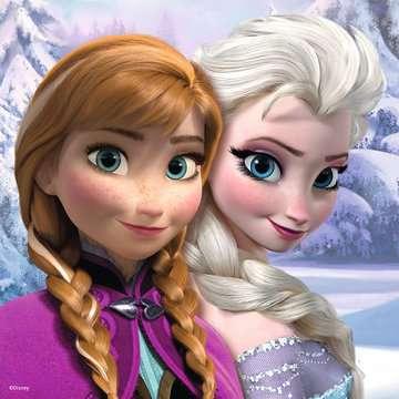 Disney Frozen 3 Puzzles + memory® Giochi;Giochi educativi - immagine 2 - Ravensburger
