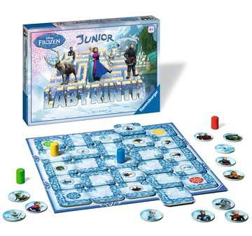 Disney Frozen Junior Labyrinth Games;Children s Games - image 2 - Ravensburger