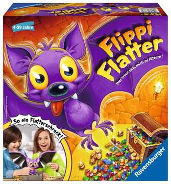 Flippi Flatter Spiele;Kinderspiele - Bild 1 - Ravensburger