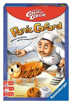 Panic Cafard  Coup de cœur  Jeux de société;Jeux enfants - Image 1 - Ravensburger