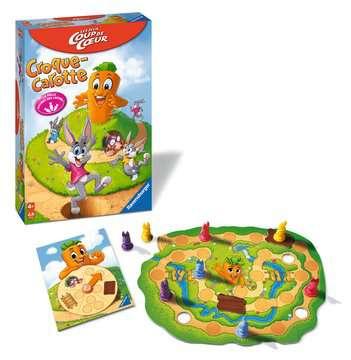 Croque Carotte  Coup de cœur  Jeux de société;Jeux enfants - Image 2 - Ravensburger