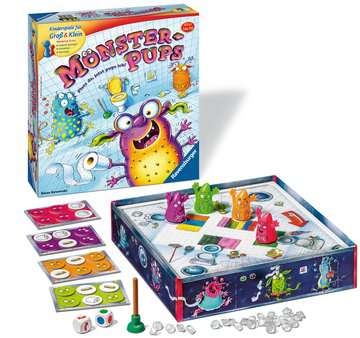 Monster-Pups Spiele;Kinderspiele - Bild 2 - Ravensburger