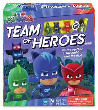 PJ Masks Team of Heroes Games;Children s Games - image 1 - Ravensburger