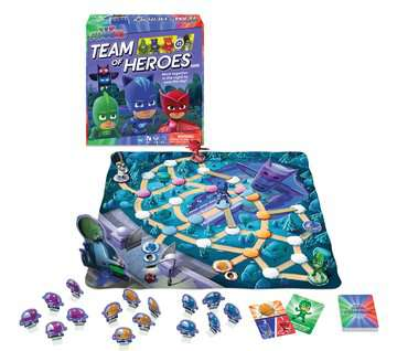 PJ Masks Team of Heroes Games;Children s Games - image 2 - Ravensburger