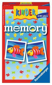 Kinder memory® Spiele;Mitbringspiele - Bild 1 - Ravensburger