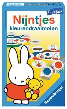 Nijntjes kleurendraaimolen Spellen;Pocketspellen - image 1 - Ravensburger