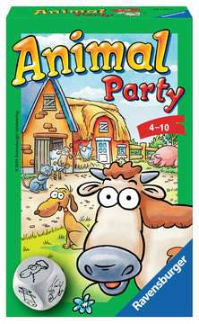 Animal Party Jeux;Mini Jeux - Image 1 - Ravensburger