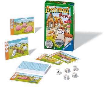 Animal Party Jeux;Mini Jeux - Image 2 - Ravensburger
