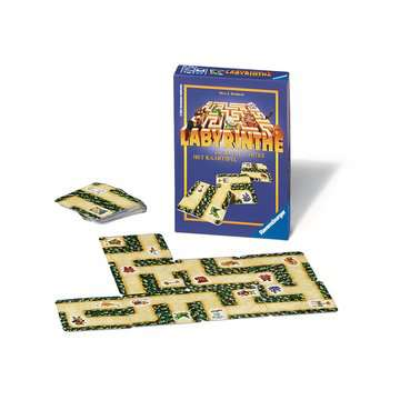 Labyrinthe kaartspel / Labyrinthe jeu de cartes Jeux;Mini Jeux - Image 2 - Ravensburger