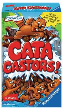 Cata Castors ! Jeux;Mini Jeux - Image 1 - Ravensburger
