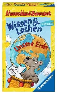 23289 Mitbringspiele Mauseschlau & Bärenstark  Wissen und Lachen – Unsere Erde von Ravensburger 1