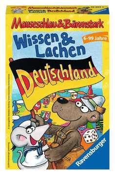 Mauseschlau & Bärenstark  Wissen und Lachen – Deutschland Spiele;Mitbringspiele - Bild 1 - Ravensburger