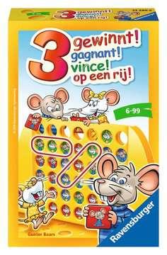 3 op een rij! Spellen;Pocketspellen - image 1 - Ravensburger