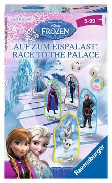 Disney Frozen  Race to the Palace Spellen;Pocketspellen - image 1 - Ravensburger