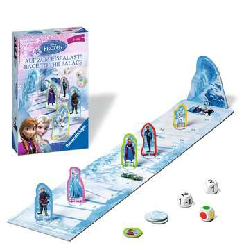 Disney Frozen  Race to the Palace Spellen;Pocketspellen - image 2 - Ravensburger