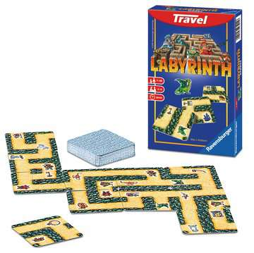 Labyrinth Travel Juegos;Travel games - imagen 2 - Ravensburger