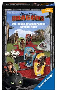 Dragons Das große Drachenrennen Spiele;Mitbringspiele - Bild 1 - Ravensburger