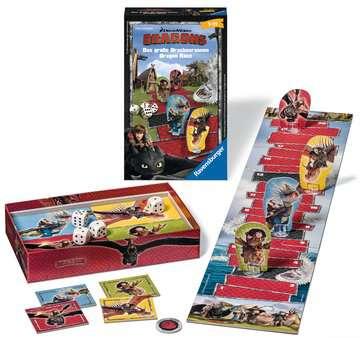 Dragons Das große Drachenrennen Spiele;Mitbringspiele - Bild 2 - Ravensburger