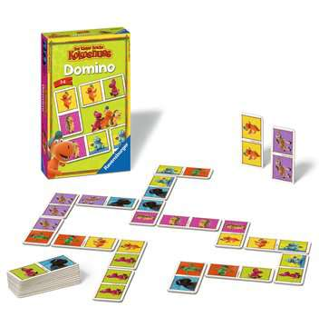 Der kleine Drache Kokosnuss Domino Spiele;Mitbringspiele - Bild 2 - Ravensburger