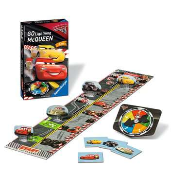 Disney/Pixar Cars 3  Go Lightning McQueen! Spellen;Pocketspellen - image 2 - Ravensburger