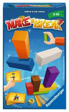 Make  n  Break Spellen;Pocketspellen - image 1 - Ravensburger
