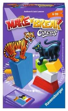 Make  n  Break Circus Spellen;Pocketspellen - image 1 - Ravensburger
