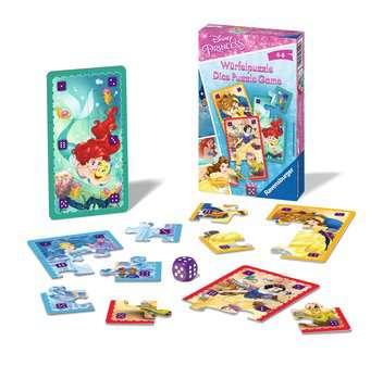 23452 Mitbringspiele Disney Princess Würfelpuzzle von Ravensburger 2