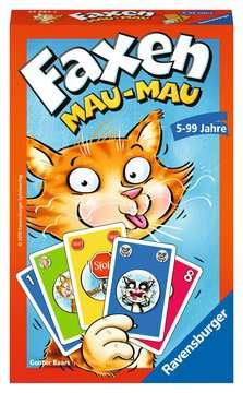 Faxen Mau-Mau Spiele;Mitbringspiele - Bild 1 - Ravensburger