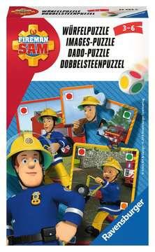 Fireman Sam Dobbelpuzzel Spellen;Pocketspellen - image 1 - Ravensburger
