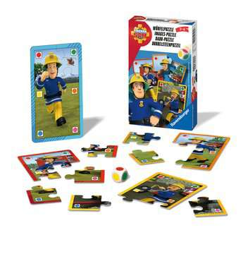 Fireman Sam Dobbelpuzzel Spellen;Pocketspellen - image 2 - Ravensburger