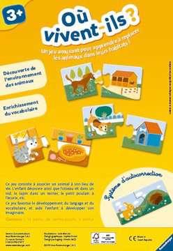 Où vivent-ils ? Jeux de société;Jeux enfants - Image 2 - Ravensburger