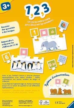 1, 2, 3 Jeux éducatifs;Premiers apprentissages - Image 2 - Ravensburger