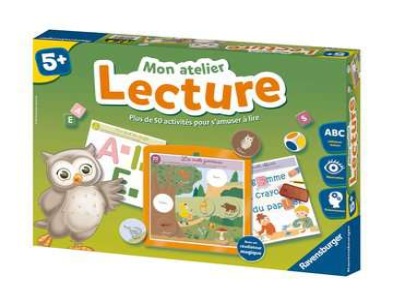 Mon atelier Lecture Jeux éducatifs;Premiers apprentissages - Image 1 - Ravensburger