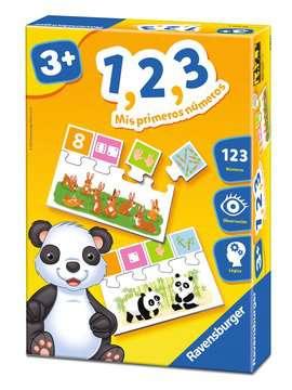1, 2, 3 - Mis primeros números Juegos;Juegos educativos - imagen 1 - Ravensburger