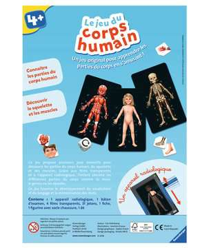 Le jeu du corps humain Jeux éducatifs;Premiers apprentissages - Image 2 - Ravensburger
