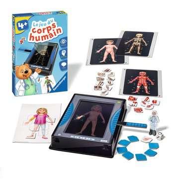 Le jeu du corps humain Jeux éducatifs;Premiers apprentissages - Image 3 - Ravensburger
