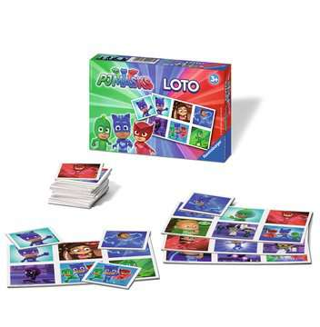 Loto Pyjamasques Jeux éducatifs;Loto, domino, memory® - Image 2 - Ravensburger