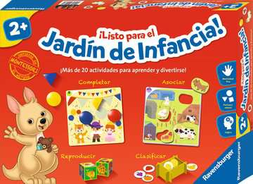 Listo para el jardin de la infancia Juegos;Juegos educativos - imagen 1 - Ravensburger